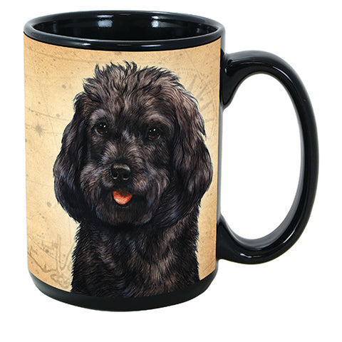 Faithful Friends Cockapoo Black Dog Breed Coffee Mug