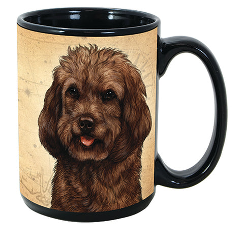 Faithful Friends Cockapoo Chocolate Dog Breed Coffee Mug