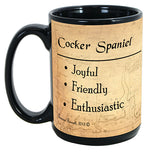 Faithful Friends Cocker Spaniel Dog Breed Coffee Mug