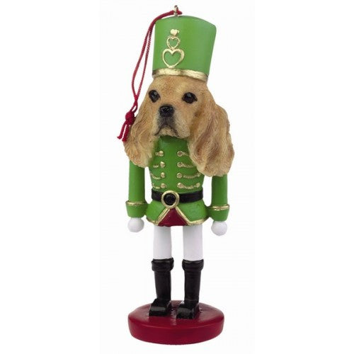 Cocker Spaniel Dog Toy Soldier Nutcracker Christmas Ornament