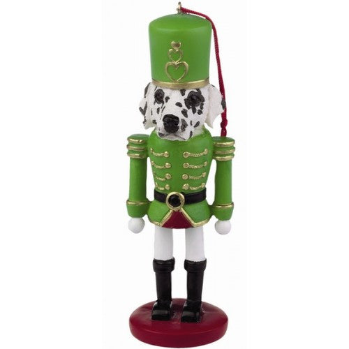 Dalmatian Dog Toy Soldier Nutcracker Christmas Ornament