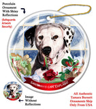 Dalmatian Assorted Howliday Dog Christmas Ornament