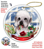 Dandie Dinmont Terrier Howliday Dog Christmas Ornament