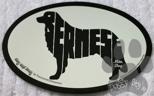 Euro Style Bernese Mountain Dog Breed Magnet