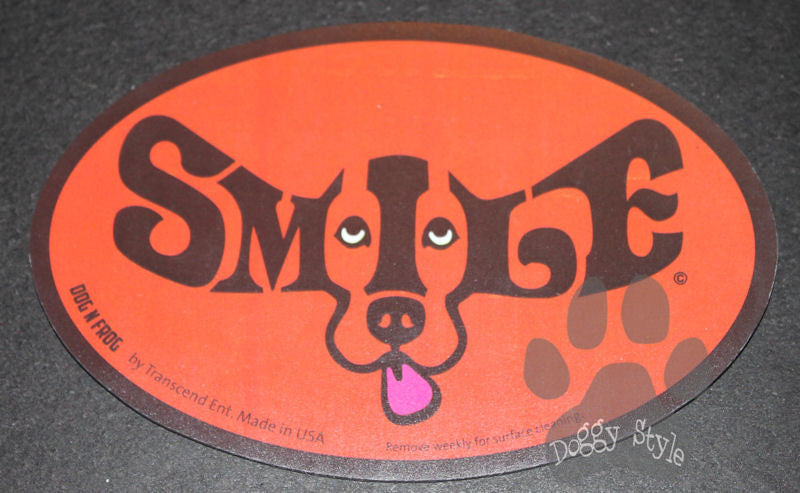 Euro Style Smile Red Dog Breed Magnet