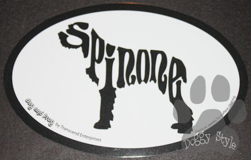 Euro Style Spinone Italiano Dog Breed Magnet