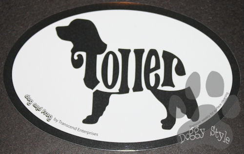 Euro Style Nova Scotia Duck Tolling Retriever Toller Dog Breed Magnet
