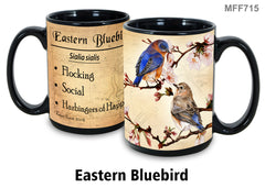 Eastern Bluebird Bird Faithful Friends Coffee Mug