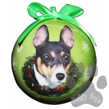 Rat Terrier Shatterproof Dog Breed Christmas Ornament