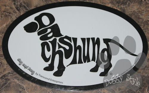 Euro Style Dachshund Dog Breed Magnet