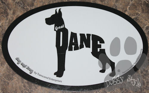 Euro Style Great Dane Dog Breed Magnet