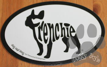 Euro Style French Bulldog Dog Breed Magnet