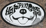 Euro Style Happiness Dog Breed Magnet