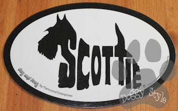 Euro Style Scottish Terrier Dog Breed Magnet