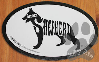 Euro Style German Shepherd Dog Breed Magnet