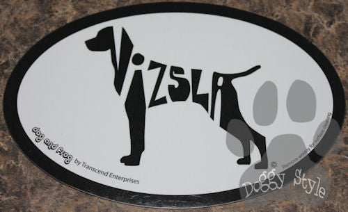 Euro Style Vizsla Dog Breed Magnet