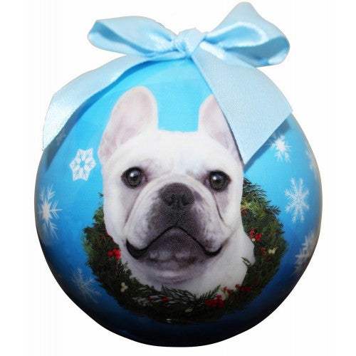 French Bulldog Shatterproof Dog Breed Christmas Ornament