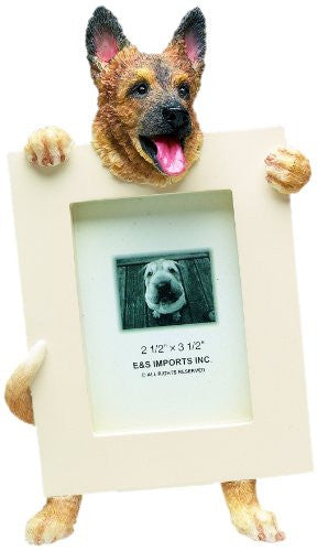 German Shepherd Dog Picture Frame Holder