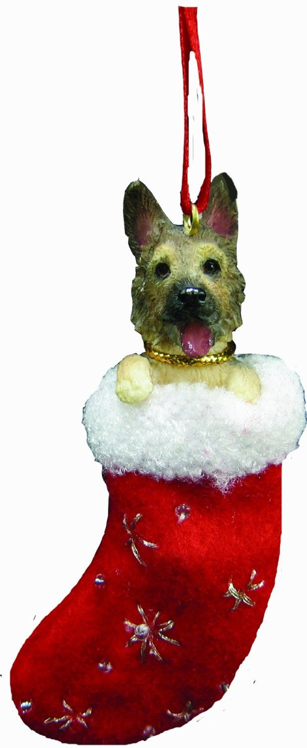 Santa S Little Pals German Shepherd Christmas Ornament Doggy Style