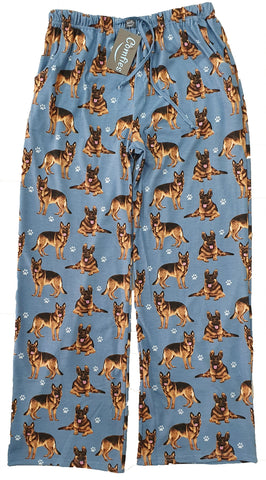 German Shepherd Unisex Pajama Pants