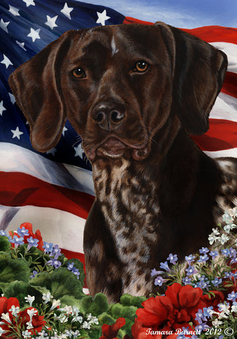 German Shorthaired Pointer Best In Breed Flag