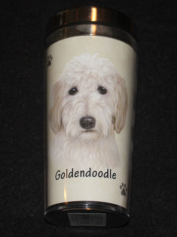 Goldendoodle Stainless Steel Travel Tumbler