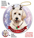 Goldendoodle Howliday Dog Christmas Ornament