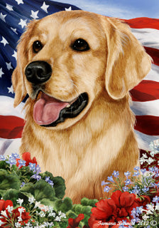 Golden Retriever Assorted Best In Breed Flag