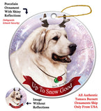 Great Pyrenees Howliday Dog Christmas Ornament