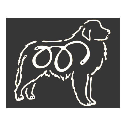 K Line Great Pyrenees Dog Car Window Decal Tattoo