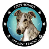Greyhound My Best Friend Dog Breed Magnet