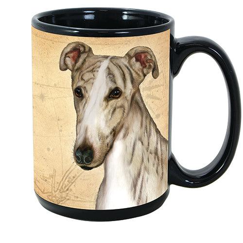 Faithful Friends Greyhound Dog Breed Coffee Mug