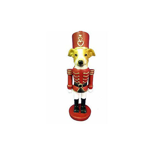 Greyhound Fawn Dog Toy Soldier Nutcracker Christmas Ornament