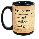 Faithful Friends Irish Setter Dog Breed Coffee Mug