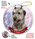 Irish Wolfhound Howliday Dog Christmas Ornament