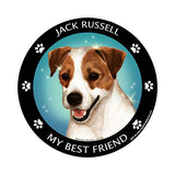 Jack Russell Terrier My Best Friend Dog Breed Magnet