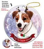 Jack Russell Terrier Howliday Dog Christmas Ornament