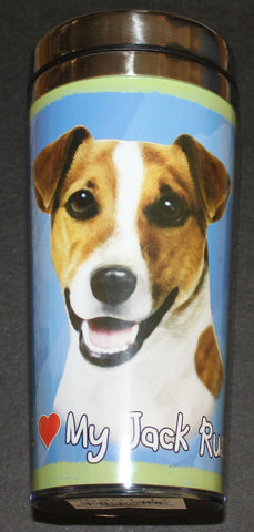 Jack Russell Terrier Stainless Steel Travel Tumbler