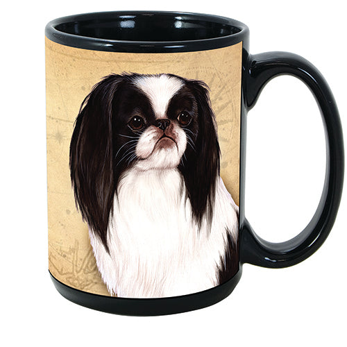 Faithful Friends Japanese Chin Dog Breed Coffee Mug