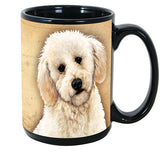 Faithful Friends Labradoodle Dog Breed Coffee Mug