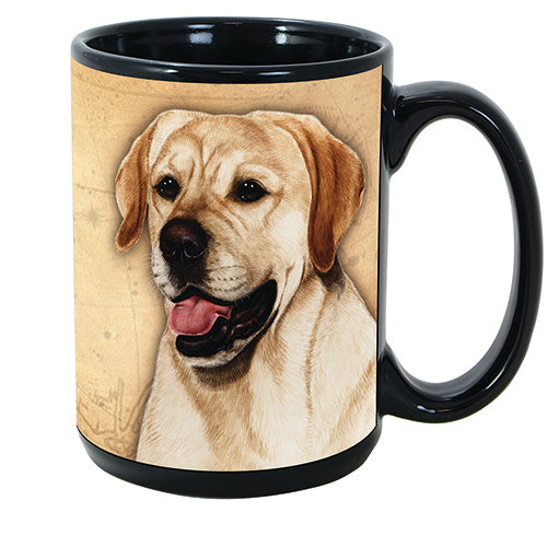 Faithful Friends Labrador Retriever Yellow Dog Breed Coffee Mug