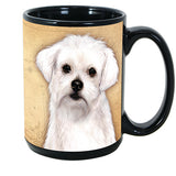 Faithful Friends Maltese Dog Breed Coffee Mug