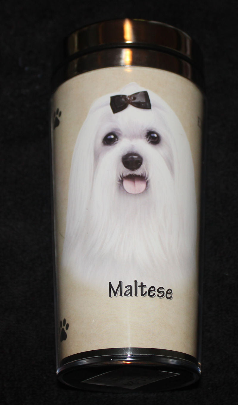 Maltese Stainless Steel Travel Tumbler