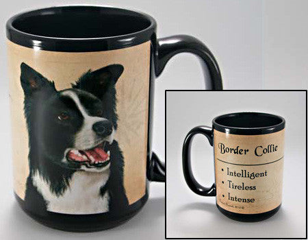 Faithful Friends Border Collie Dog Breed Coffee Mug