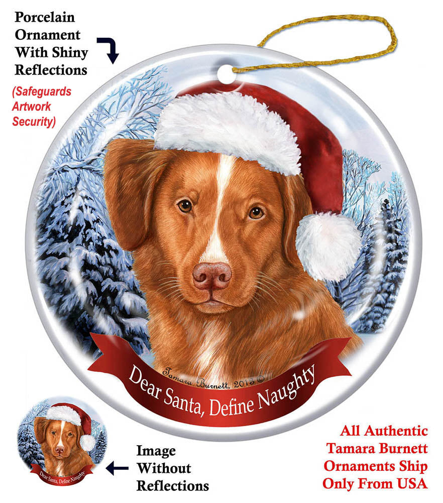 Nova Scotia Duck Tolling Retriever Howliday Dog Christmas Ornament