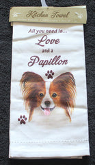 Papillon Dish Towel
