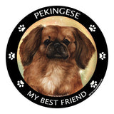 Pekingese My Best Friend Dog Breed Magnet