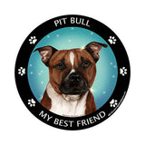 Pit Bull My Best Friend Dog Breed Magnet