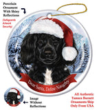 Portuguese Water Dog Howliday Dog Christmas Ornament