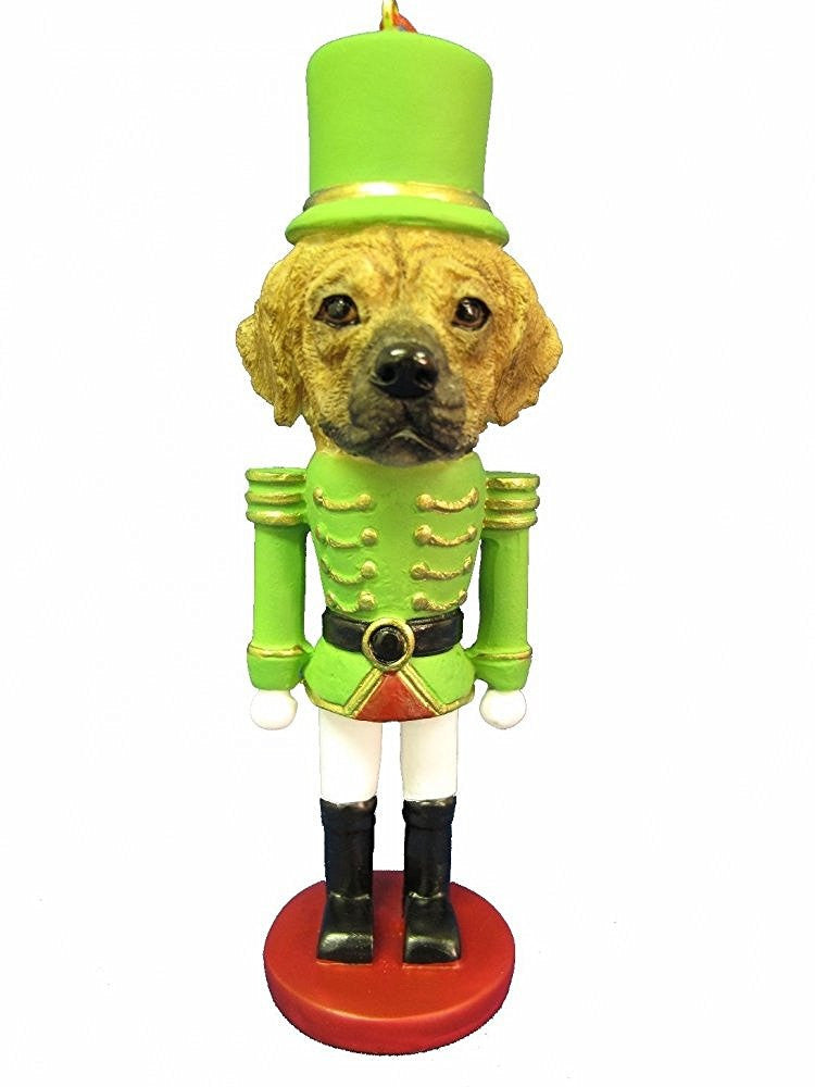 Puggle Dog Toy Soldier Nutcracker Christmas Ornament